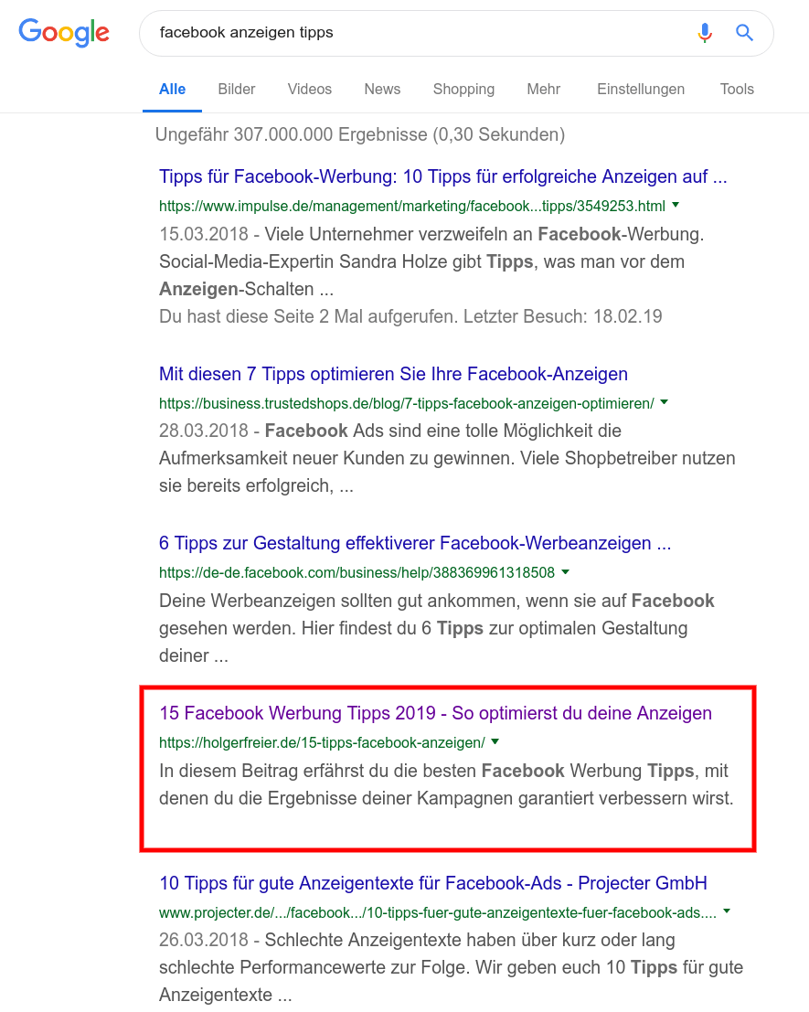 facebook-ads-seo-rankings