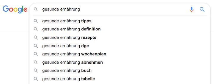 google-suche-ideen