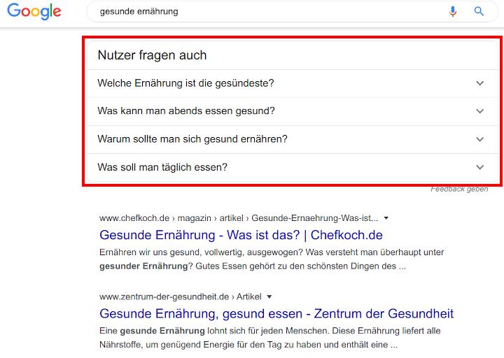google-suche-fragen