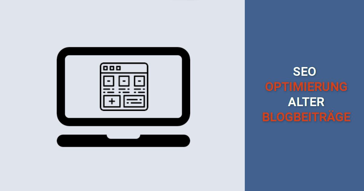 Anleitung optimierung blogbeitraege