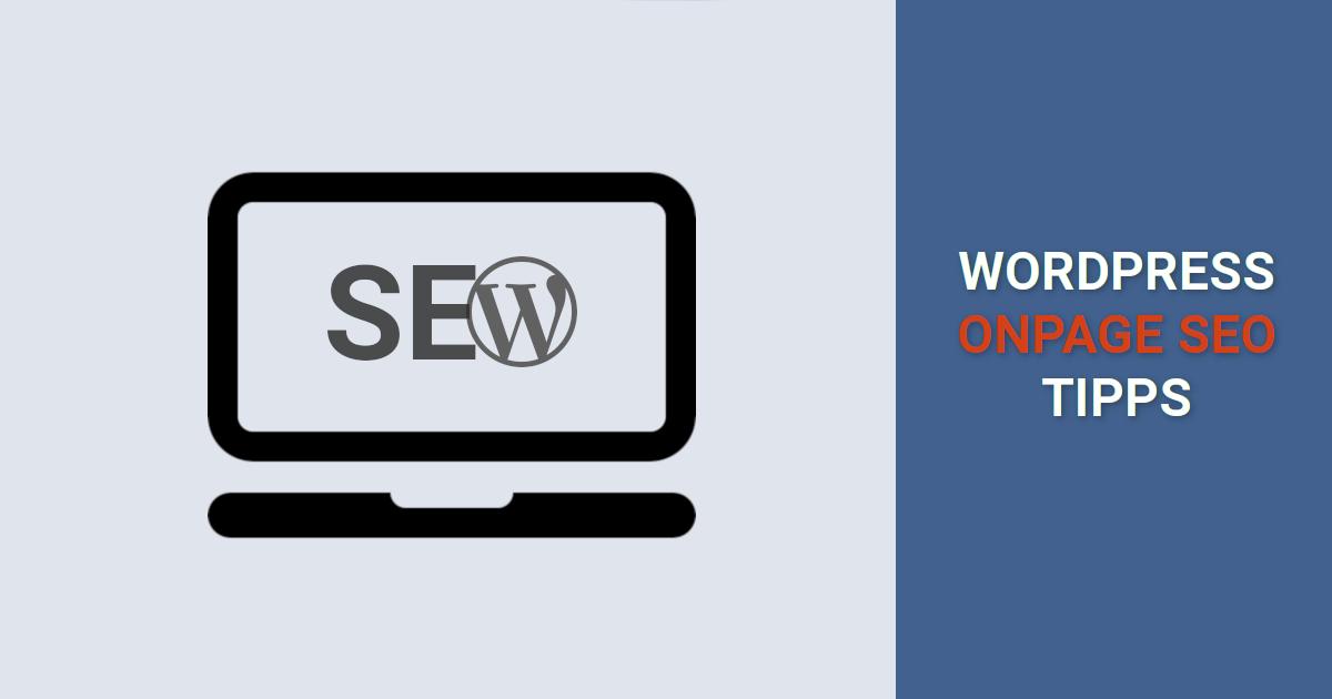 wordpress-onpage-seo optimieren tipps